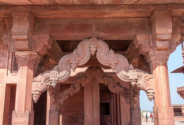 Fatehpur Sikri Königspalast: Ankh-Micholi-Schatzkammer