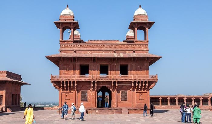 Fatehpur Sikri Königspalast: Diwan-i-Khas