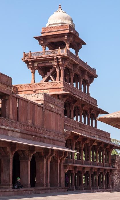 Fatehpur Sikri Königspalast: Panch Mahal