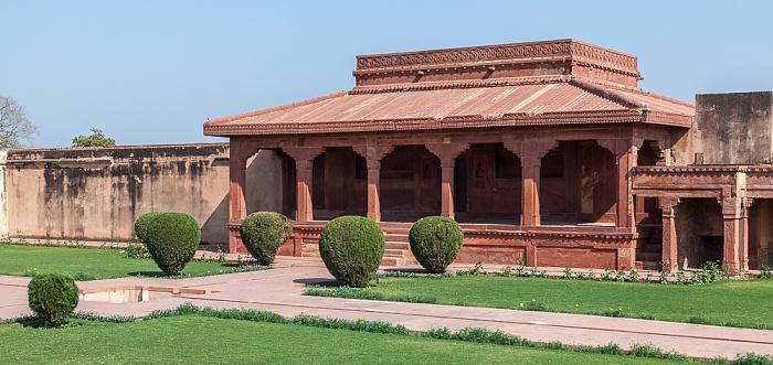 Fatehpur Sikri Königspalast: Diwan-E-Aam