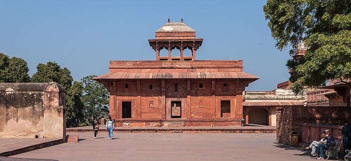 Fatehpur Sikri Königspalast: Mariam-uz-Zamani House (Miriam's House)