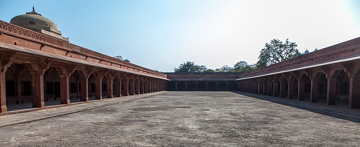 Fatehpur Sikri Königspalast: Pferdeställe