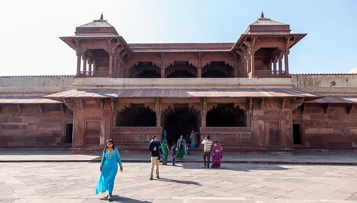 Fatehpur Sikri Königspalast: Jodha Bais Palace