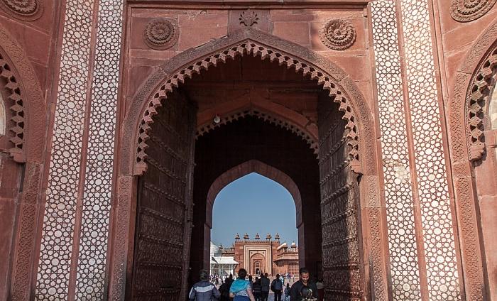 Fatehpur Sikri Jami Masjid (Dargah-Moschee): Buland Darwaza