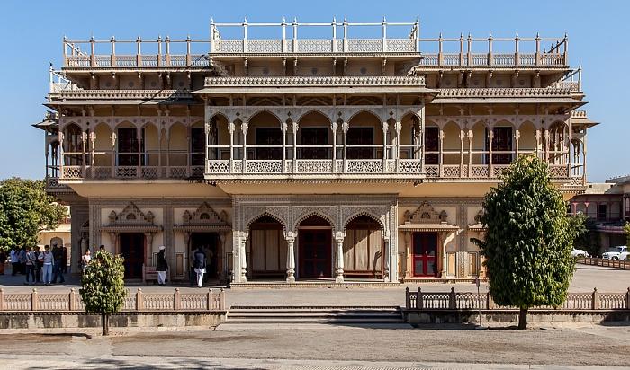 Jaipur City Palace: Mubarak Mahal (Willkommenspalast)