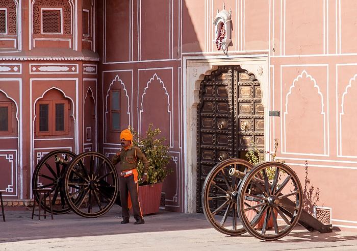 Jaipur City Palace: Sarvatobhadra Chowk