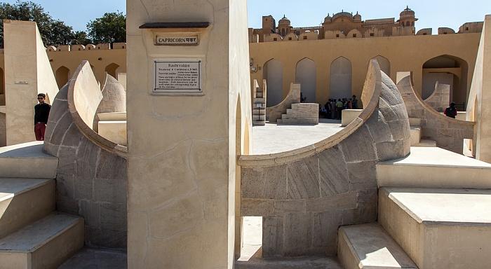 Jaipur Jantar Mantar: Rashi Valaya Yantra (Tierkreisgnomon)