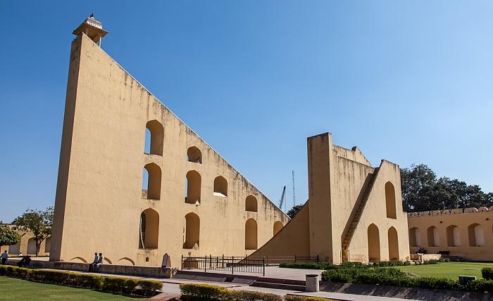 Jaipur Jantar Mantar: Vrihat Samrat Yantra (Große Sonnenuhr)