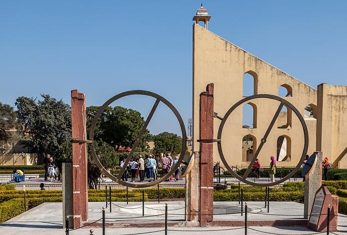 Jaipur Jantar Mantar: Chakra Yantra