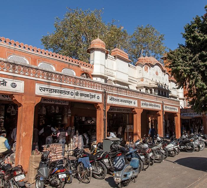 Jaipur Pink City: Tripolia Bazar