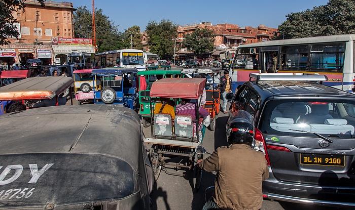 Jaipur Pink City: Badi Chaupar (Manak Chowk)