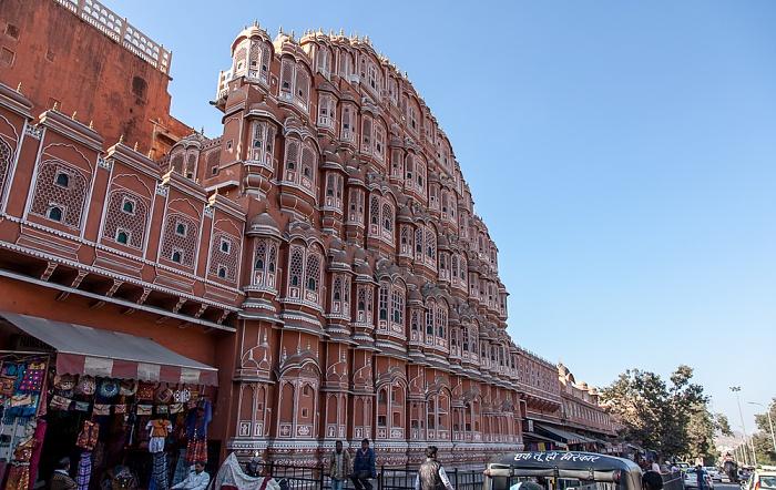 Jaipur Pink City: Amer Road - Hawa Mahal (Palast der Winde)