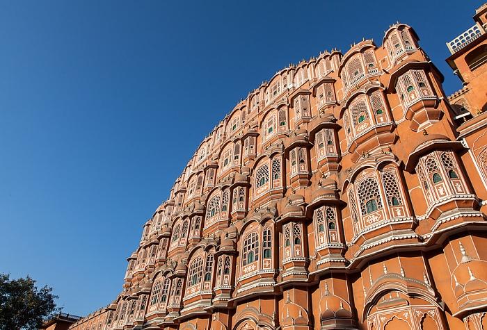 Jaipur Pink City: Hawa Mahal (Palast der Winde)