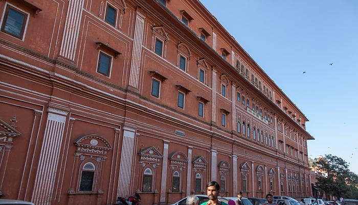 Jaipur Pink City: Amer Road - Sawai Maan Singh Town Hall