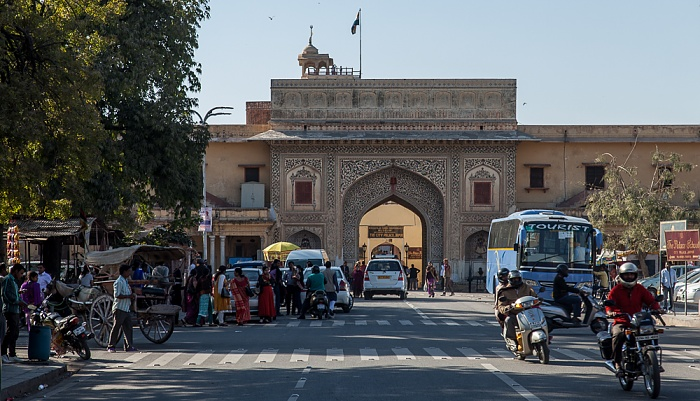 Jaipur Pink City: Jaleb Chowk - Tulsi Marg