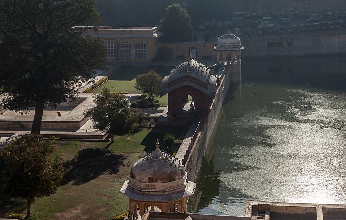Jaipur Amber Fort Garden (Dil Aaram Bagh) Maota Lake