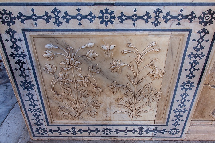 Jaipur Amber Fort: Dritter Innenhof - Magic Flower
