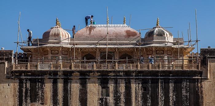 Jaipur Amber Fort: Dritter Innenhof - Ganesh Gate