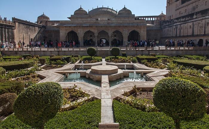 Jaipur Amber Fort: Dritter Innenhof