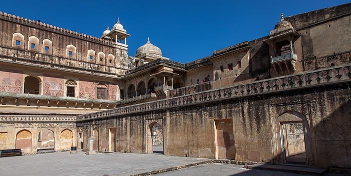 Jaipur Amber Fort: Vierter Innenhof