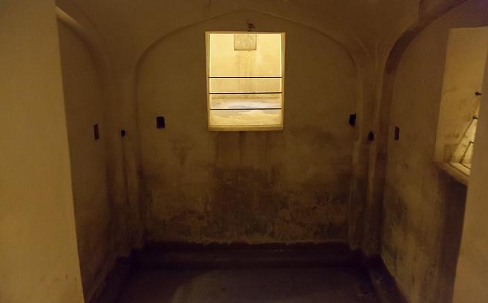 Jaipur Amber Fort: Vierter Innenhof - Zisterne