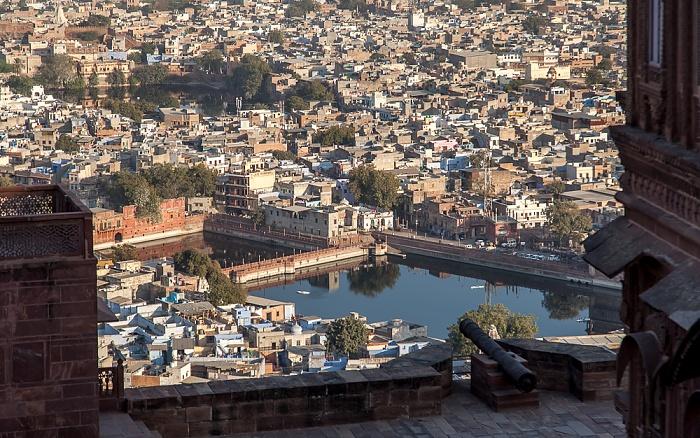 Jodhpur Blick vom Mehrangarh Fort