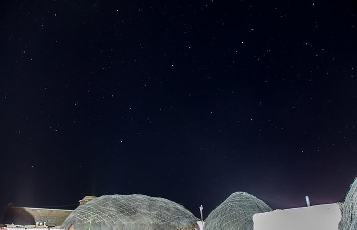 Khuri Wüste Thar (Desert National Park): Registhan Guest House, Sternenhimmel