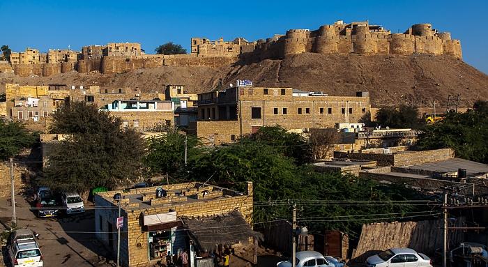 Blick von The Royale Hotel: Jaisalmer Fort