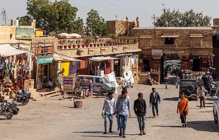 Altstadt / Jaisalmer Fort: Manak Chowk