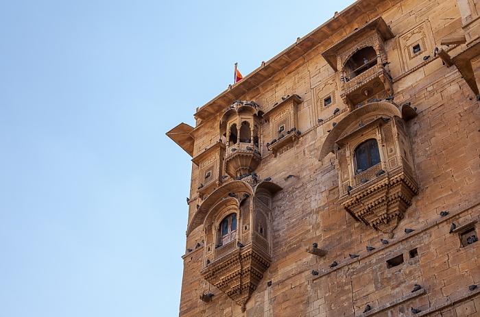 Jaisalmer Fort: Raj Mahal (Maharaja-Palast)