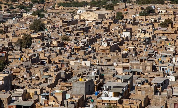 Jaisalmer Blick vom Raj Mahal (Maharaja-Palast): Altstadt