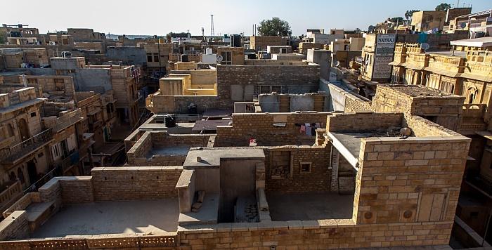 Jaisalmer Blick vom Patwon ki Haveli: Altstadt