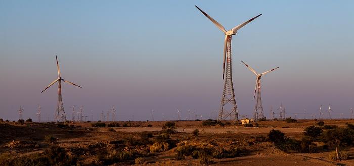 Jaisalmer Windkraftanlagen