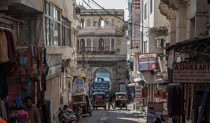 Udaipur Altstadt: Gangaur Ghat Marg
