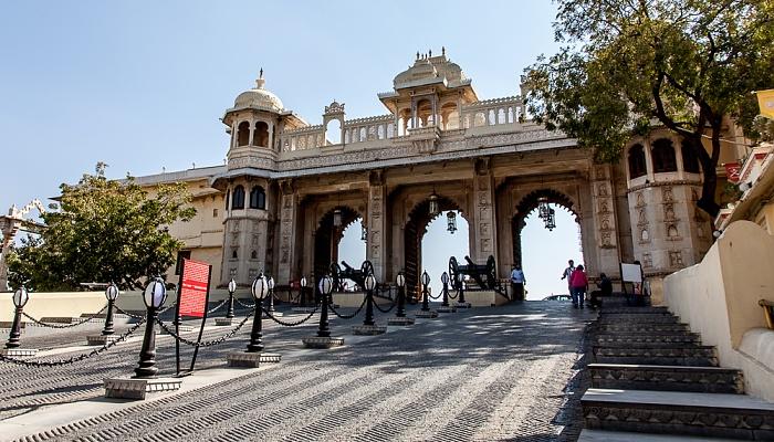 Udaipur City Palace: Tripolia Pol (Tripolia Gate)