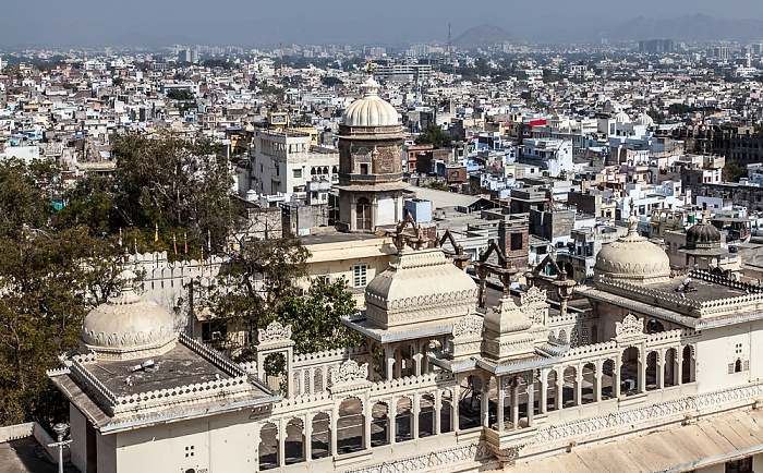 Udaipur Blick vom City Palace