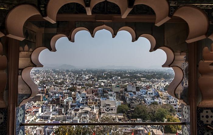 Udaipur Blick vom City Palace