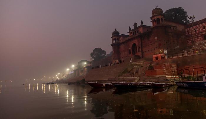 Varanasi Ganges, Ghats: Panchayati Akhada Shri Niranjani Ghat