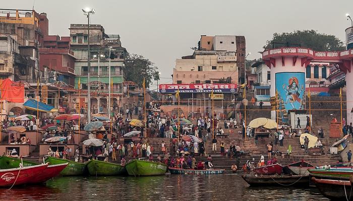 Varanasi Ganges, Ghats: Dashashwamedh Ghat
