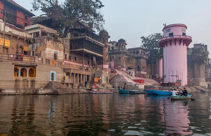 Varanasi Ganges, Ghats: Lalita Ghat