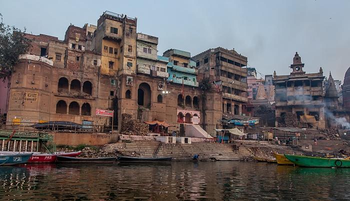 Varanasi Ganges, Ghats: Manikarnika Ghat