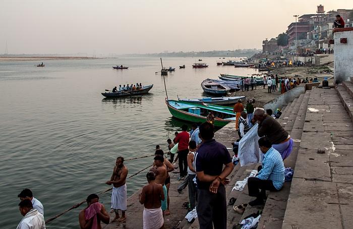 Varanasi Ghats, Ganges: Vijayanagaram Ghat