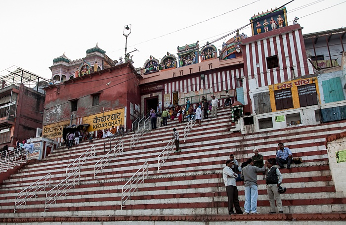 Varanasi Ghats: Kedar Ghat