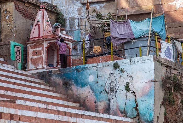 Varanasi Ghats: Narada Ghat