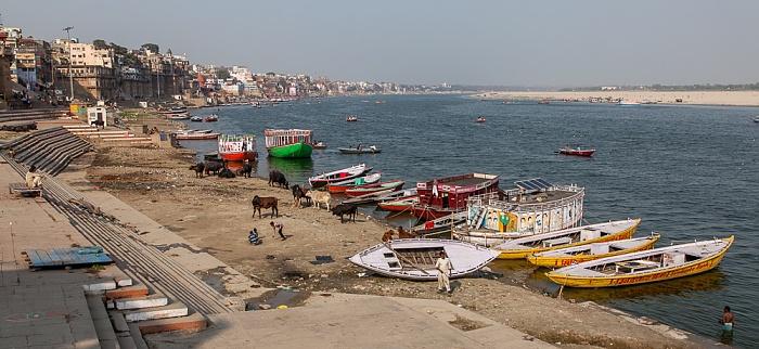 Varanasi Ghats, Ganges: Manasarovara Ghat