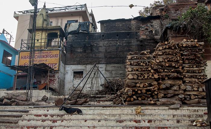 Varanasi Ghats: Harish Chandra Ghat