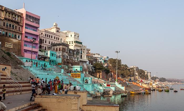 Varanasi Ghats, Ganges: Lala Ghat