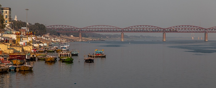 Varanasi Ghats, Ganges, Malviya Bridge