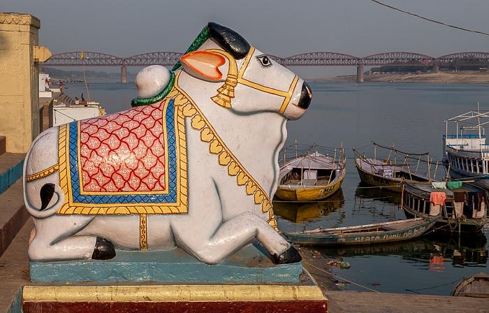 Varanasi Ghats: Gai Ghat Ganges Malviya Bridge