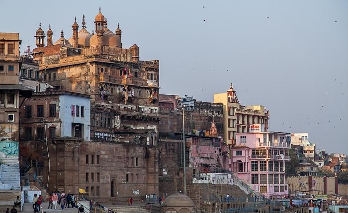 Varanasi Ghats, Aurangazeb Mosque